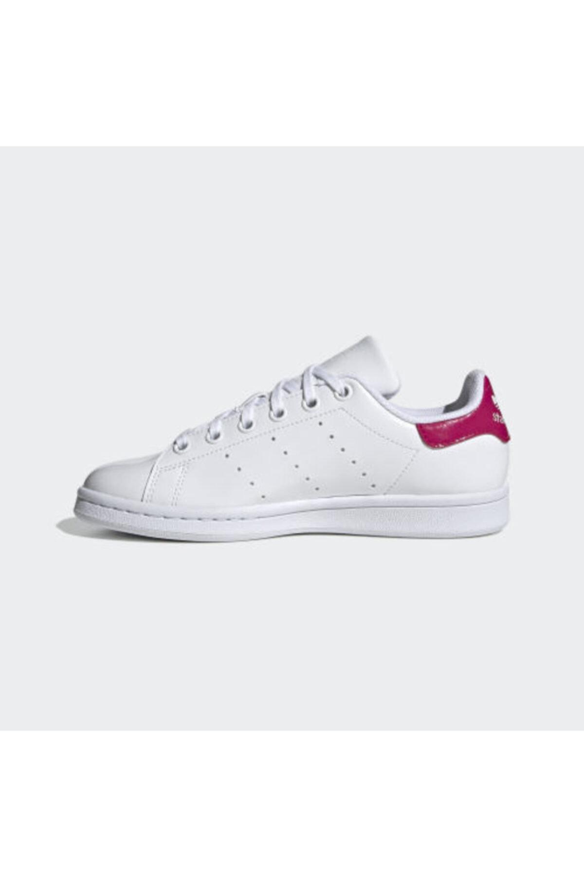 adidas Kadın Beyaz Stan Smıth Sneaker 1