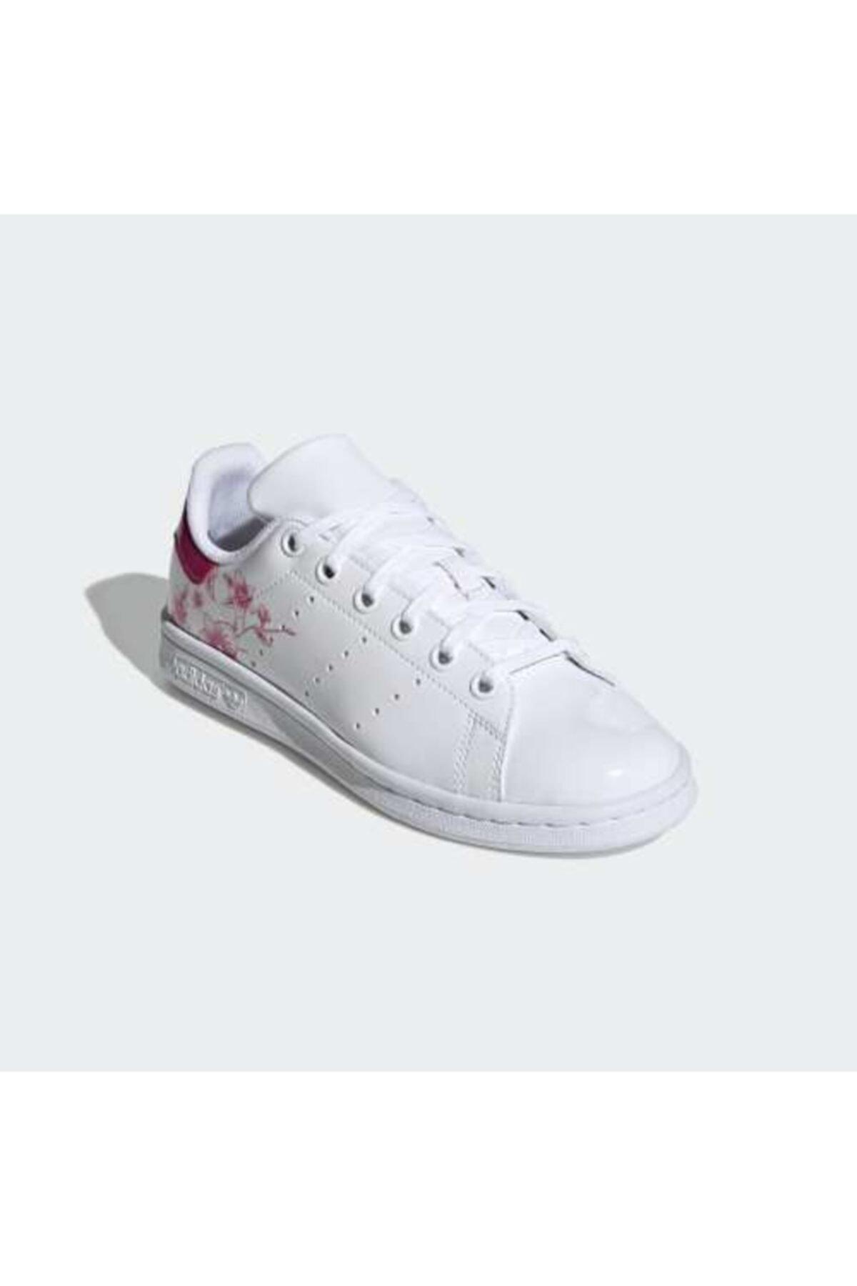adidas Kadın Beyaz Stan Smıth Sneaker 2