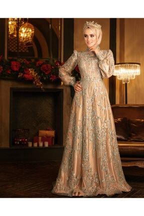 Tuğba Moda Nişanlık Tesettür Elbise