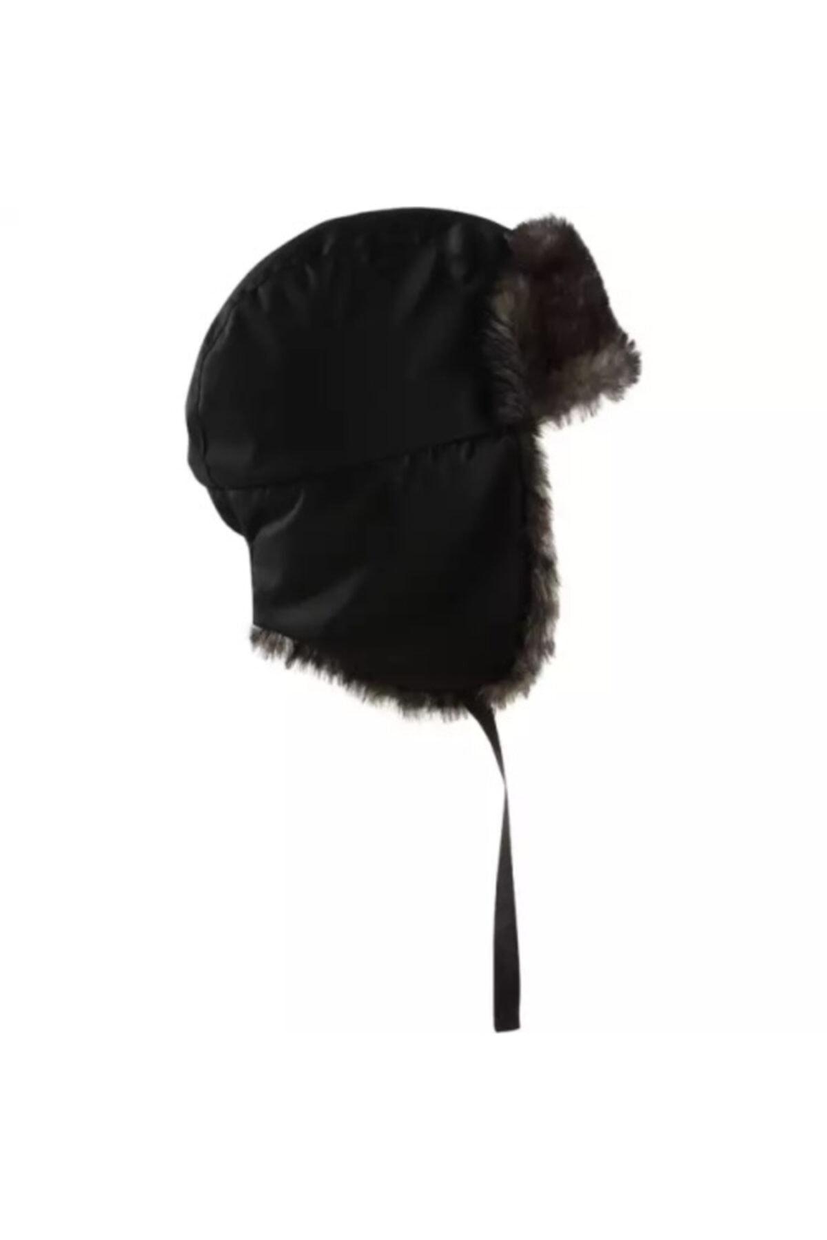 Meridyen Dukkan Kışlık Şapka Outdoor Kürklü Kalpak 2