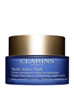 Clarins Yaşlanma Karşıtı Gece Kremi - Multi Active Night Cream N/c 50 Ml 3380810045338
