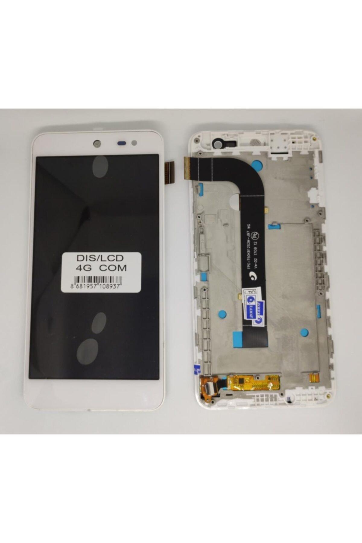 General Mobile Android One 4g Lcd Ekran +dokunmatik Full Çıtalı 1