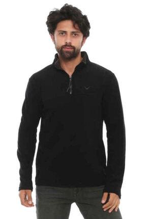 Cazador Unisex Siyah Polar Sweatshirt  5032