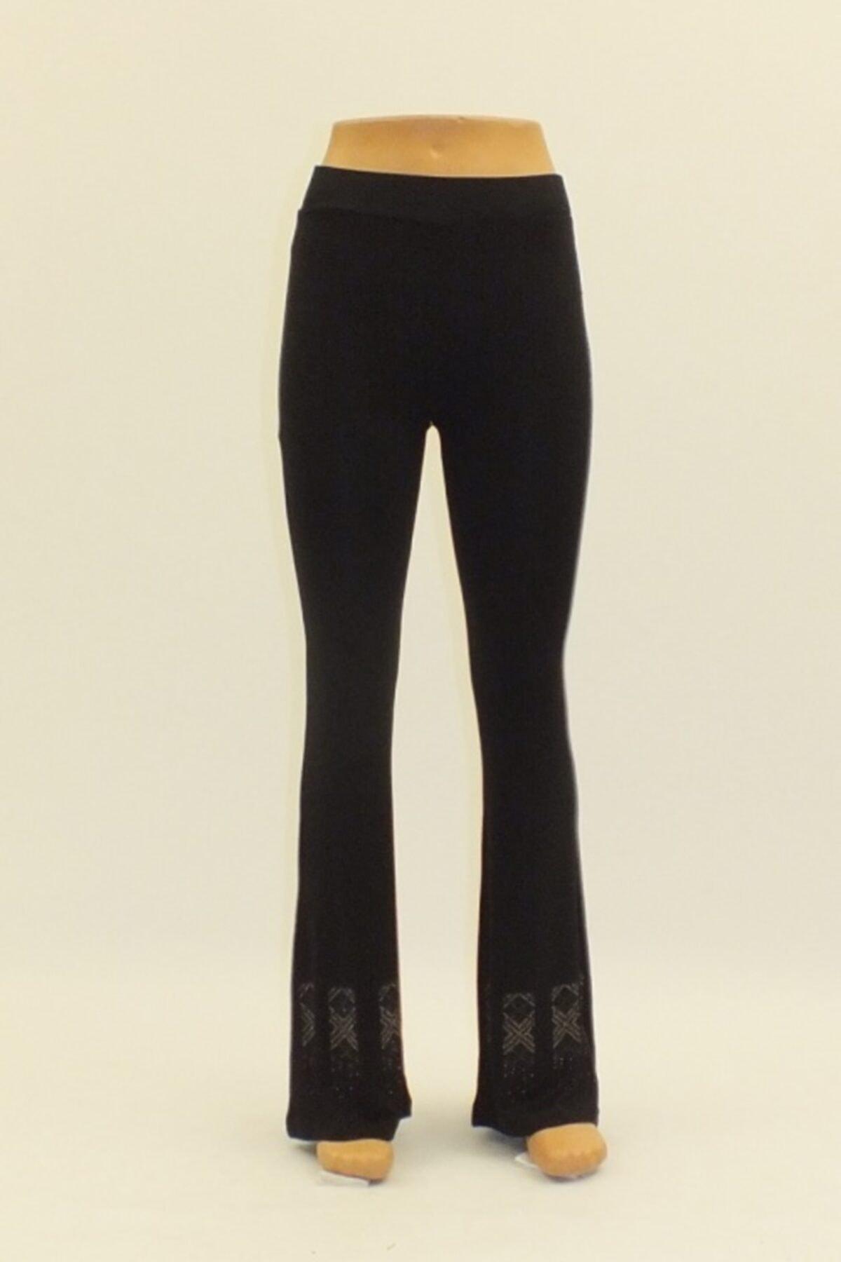 Otto Kadın Pantolon Paça Taş Işil Ispanyol Paca Pantolon 1