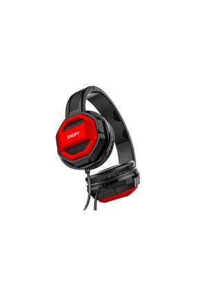 SNOOPY Snopy Sn-101 Bonny Kırmızı Pctelefon Mikrofonlu Kulaklık
