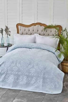 Karaca Home Rauqel Best Tiffany Çift Kişilik Pano Embosy Battaniye