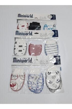 Miniworld Erkek Bebekler Için 9 Çift Eldiven