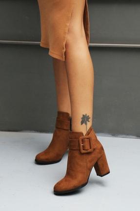 Ayakkabı Modası Kadın Kahverengi Bot