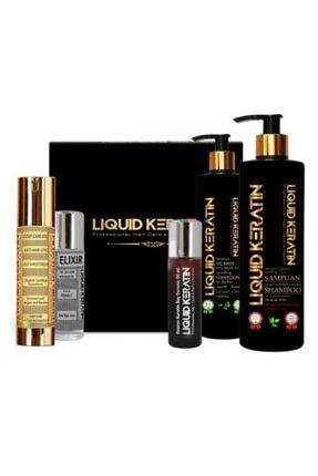 Liquid Keratin Keratin 5'li Dökülme Önleyici Hızlı Saç Seti