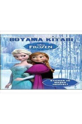 Happyland 2 adet Frozen Boyama Kitabı Maske Ve Sticker Hediyeli