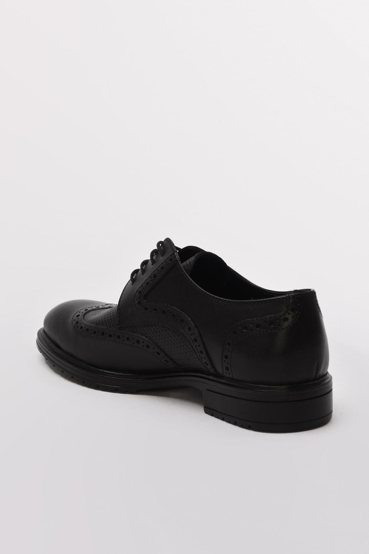 Hotiç Hakiki Deri Sıyah Casual Ayakkabı 02AYH190550A100 2
