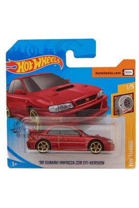 HOT WHEELS Arabaları Subaru Impreza 22b Oyuncakları Ghf06