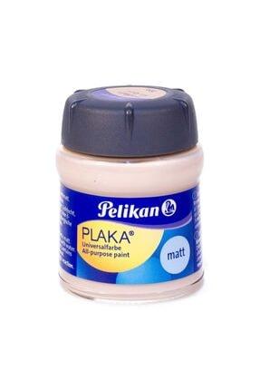 Pelikan Plaka Boyası Taş, Ahşap, Cam, Metal, Karton 50 Ml No:20a Flesh Color (6 Lı Paket)