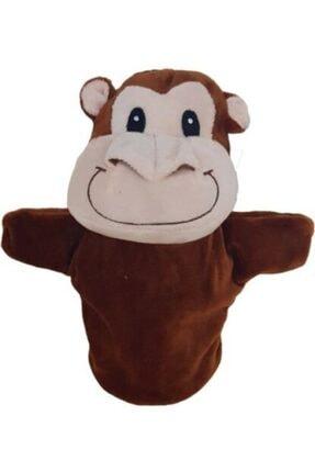 Çeşitli El Kuklası Peluş Maymun 25 Cm