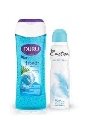 Duru Okyanus Esintisi Duş Jeli 250 ml ve Ocean Fresh Kadın Deodorant 150 ml