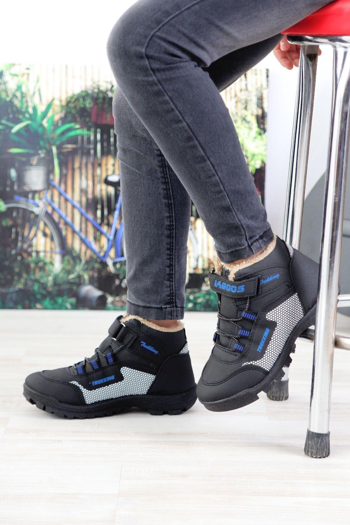 MODALİST Unisex Siyah Bot Ayakkabı 1