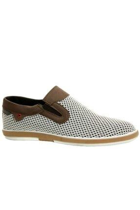 Atlanta Erkek Beyaz Keten Ayakkabı
