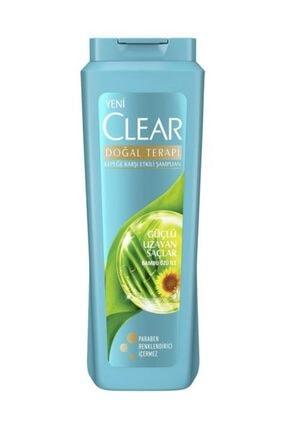 Clear Doğal Terapi Güçlü Uzayan Saçlar Şampuan 500 Ml