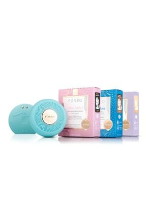 FOREO Akıllı Cilt Tanıma + Temizleme Ve Bakım Seti + 3 Adet 6'lı Advanced Collection Maske 7350092134347A