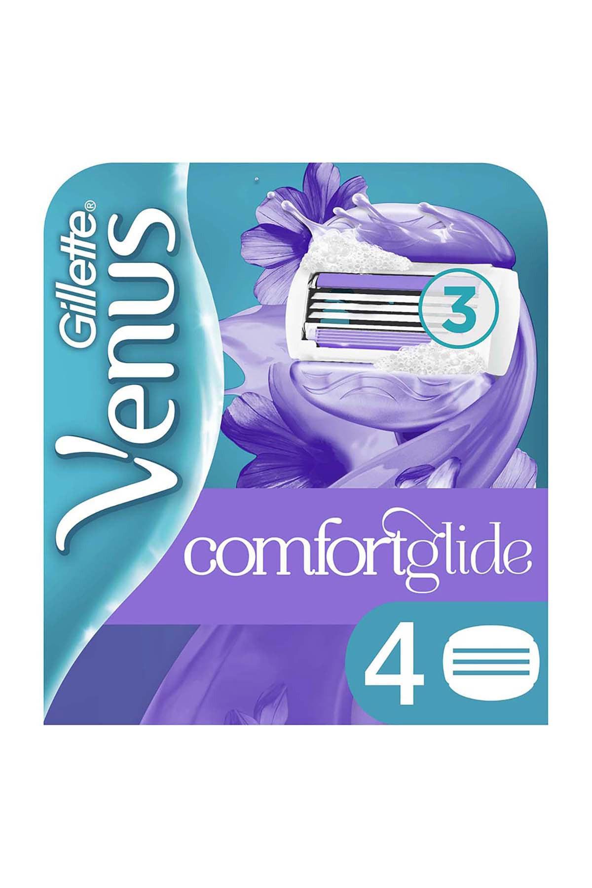 Gillette Venus Breeze Yedek Kadın Tıraş Bıçağı 4'lü 1