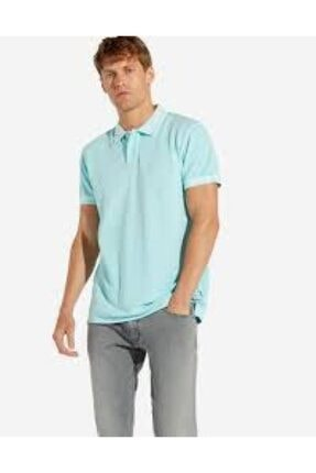 WRANGLER Erkek Yeşil Polo Yaka T-shirt W7c15kqvp