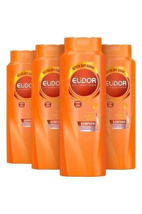 Elidor Şampuan Onarıcı Bakım 4x650 Ml