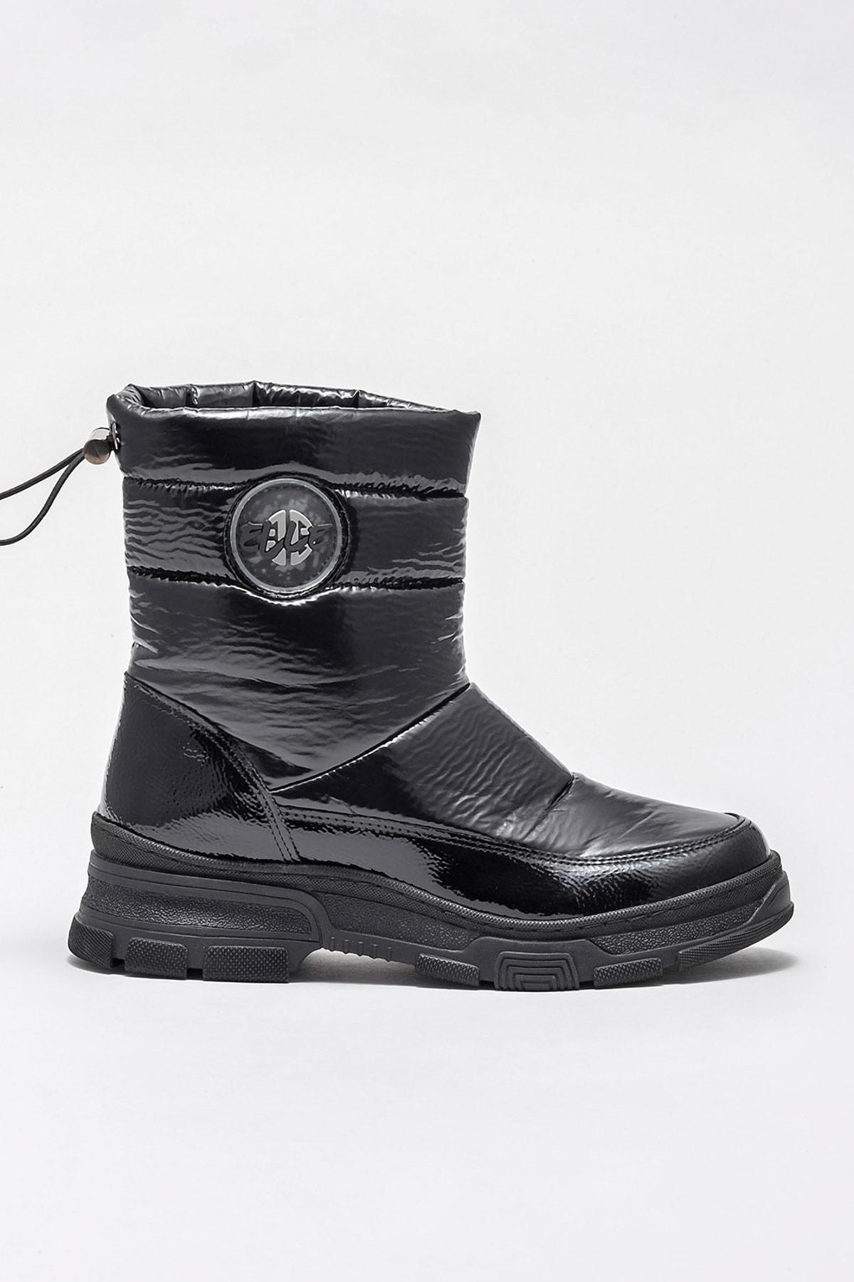 Elle Shoes Kadın Petula Sıyah Bot & Bootie 20KAYMB103 1
