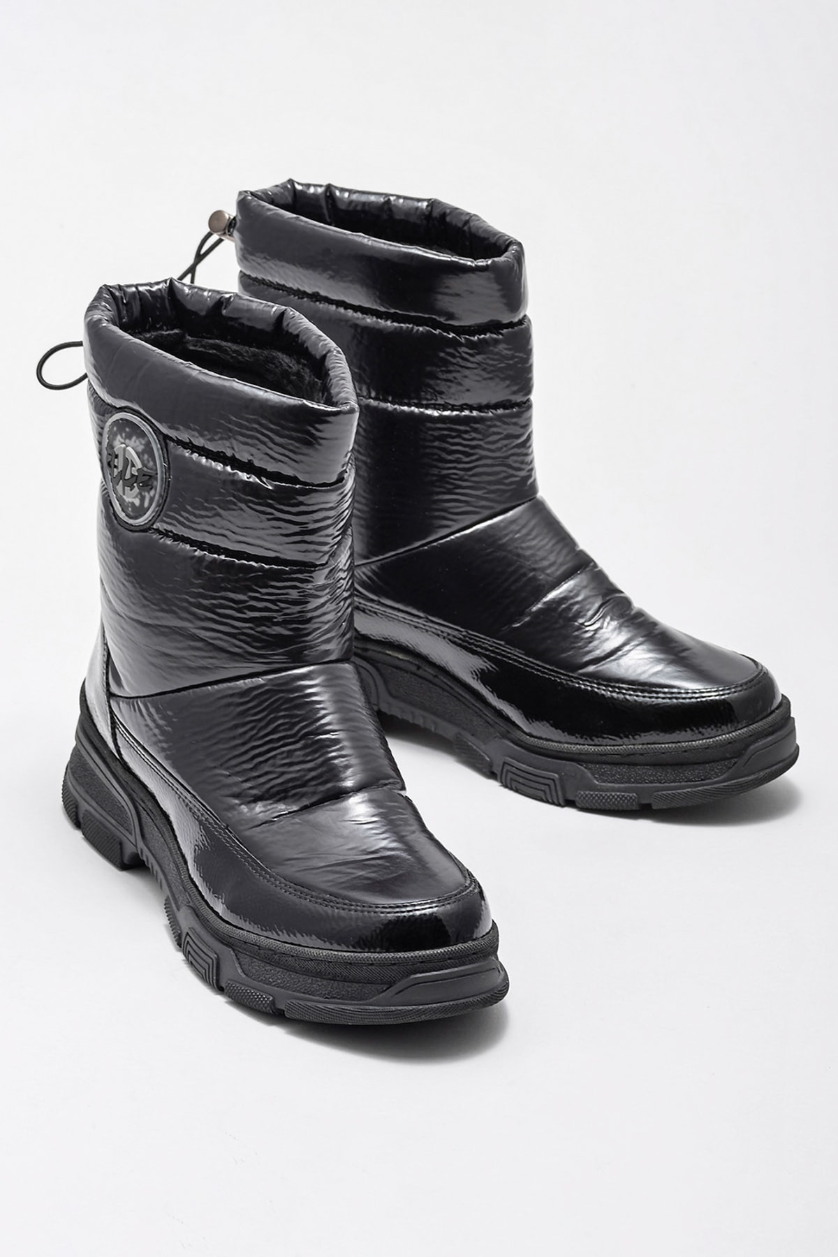 Elle Shoes Kadın Petula Sıyah Bot & Bootie 20KAYMB103 2
