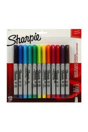 Sharpie Set Permanent Ultra Fine Uç 12 Li /