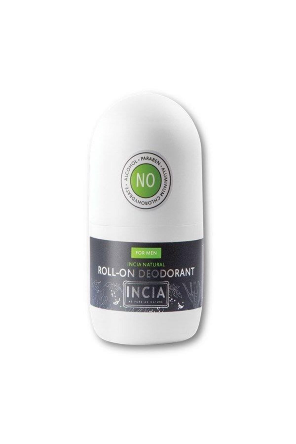 Incia Doğal Roll-on Deodorant Erkekler Için 50 Ml 2