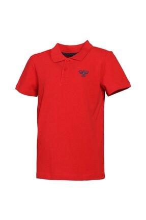 HUMMEL Kız Çocuk Kırmızı Polo T-shirt