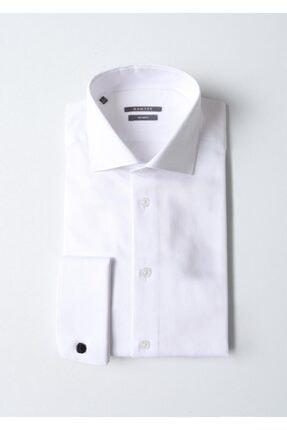Ramsey Micro Dokuma Uzun Kollu Gömlek