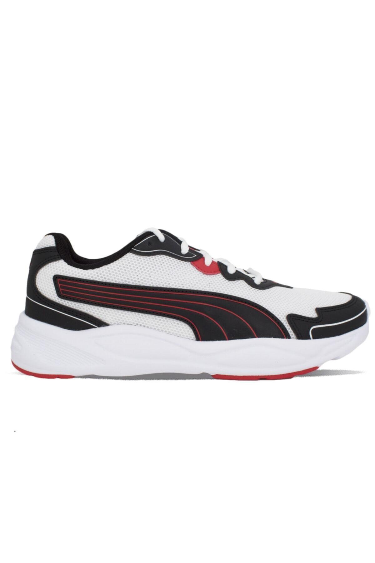 Puma 90S RUNNER NU WAVE Beyaz Erkek Sneaker Ayakkabı 100651392 1
