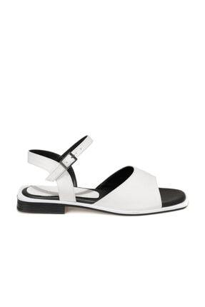 Butigo ANDRE 1FX Beyaz Kadın Sandalet 101045534