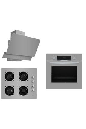 Bosch &Ferre Grigio Ankastre Set 144 ( HBF534EH1T - G2140 - D031 )