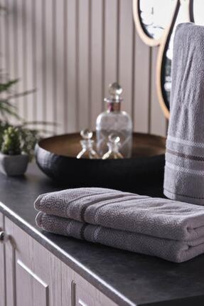 Doqu Home Silverline Banyo Havlusu Grey 90X150