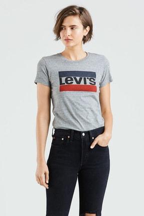 Levi's Kadın Perfect Graphic Sportswear Logo T-Shirt 29526-0102