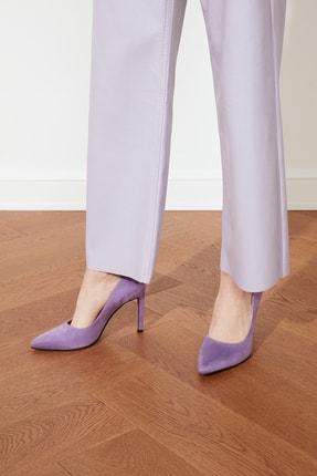 TRENDYOLMİLLA Lila Kadın Klasik Topuklu Ayakkabı TAKSS21TO0076