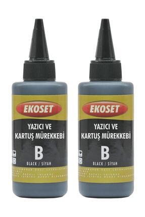 ekoset Epson L382, L386, L455, L486, L550, L565 Için Siyah Mürekkep 200 ml