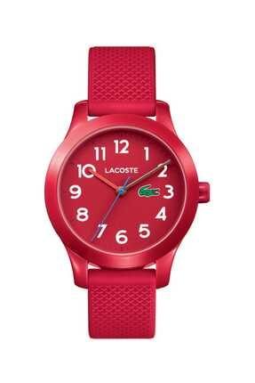 Lacoste Unisex Çocuk Kırmızı  Kol Saati