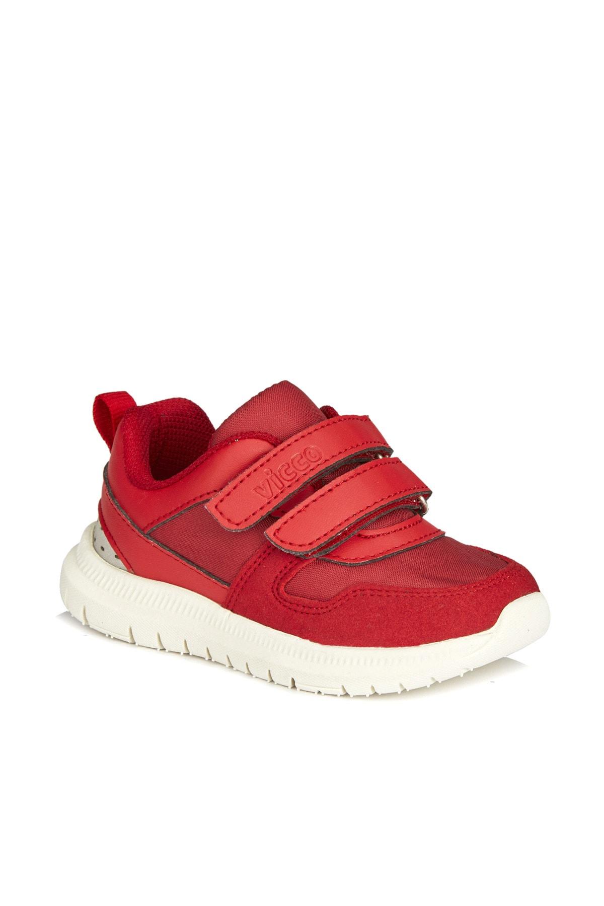 Vicco Solo Unisex Çocuk Kırmızı Spor Ayakkabı 1