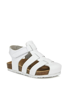 Vicco Arena Unisex Genç Beyaz Sandalet