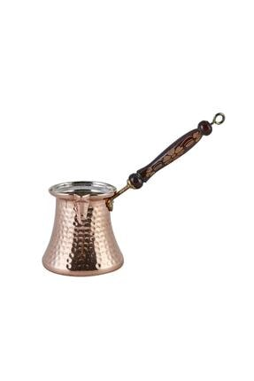 Karaca Antik Bakır Cezve - L