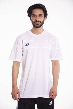 Lotto T-shirt Erkek Beyaz lucca Tee Pl