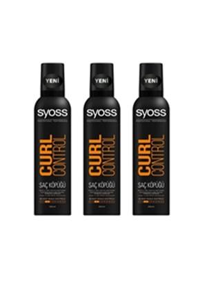 Syoss Curl Control- Bukle Belirginleştirici Köpük 250 Ml X 3adet