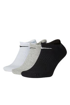 Nike Unisex Renkli Everday Lıghgtweıght Cushıoned Onzichtbare Lg Çorap Sx7673-901