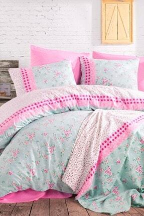 İyi Geceler İstanbul Cotton Life %100 Pamuklu Pike Çift Kişilik Kutulu Çeyizlik Pike Takımı Petit Mint
