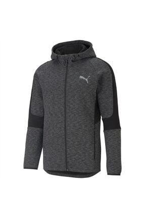 Puma Evostripe Fz Hoodie Erkek Siyah Sweatshirt - 58581101