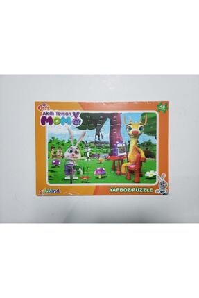 ADELAND Trt Çocuk Akıllı Tavşan Momo 48 Parça Yapboz (puzzle)