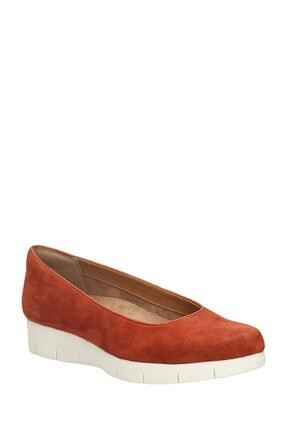 CLARKS Kadın Yazlık Deri Ayakkabı